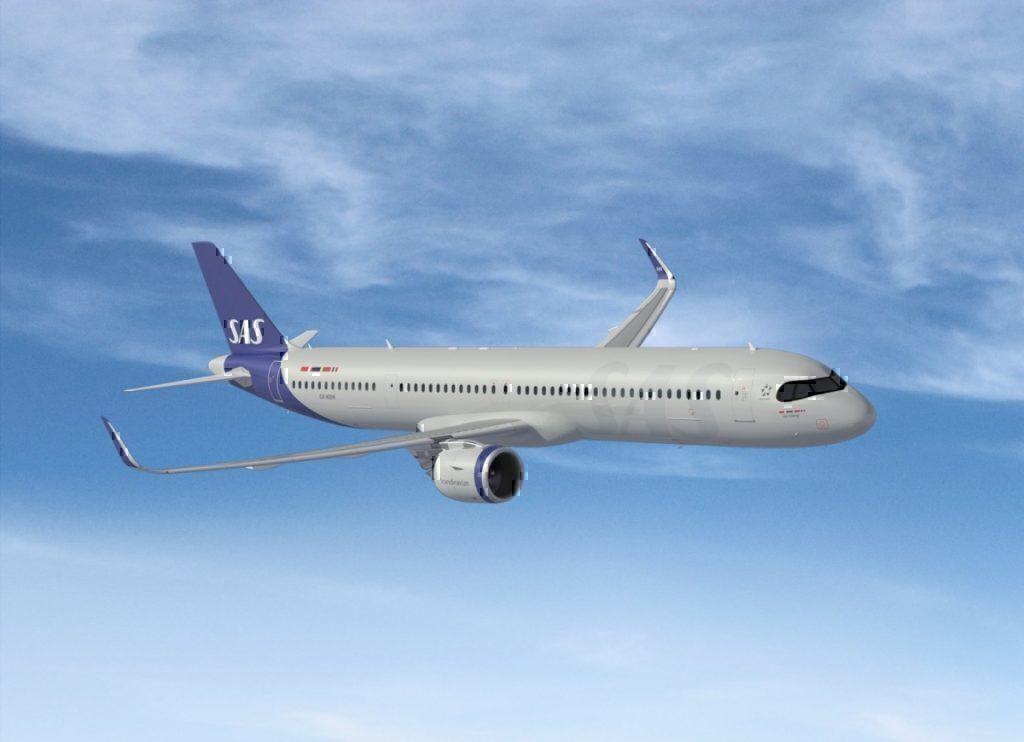 SAS A321neo