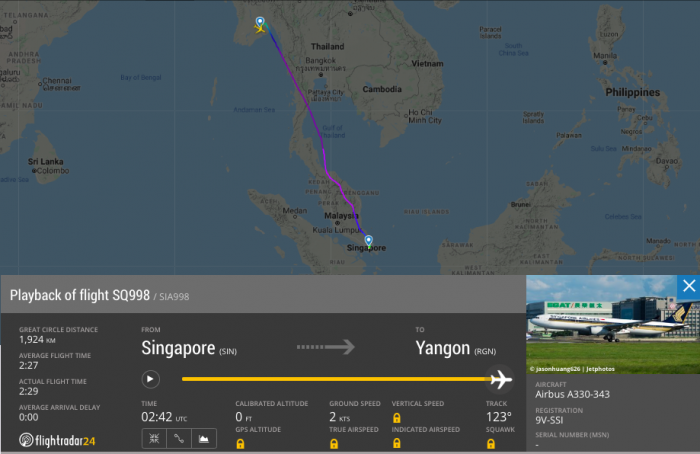 Singapore Airlines Airbus A330 Suffers Tail Strike On ...