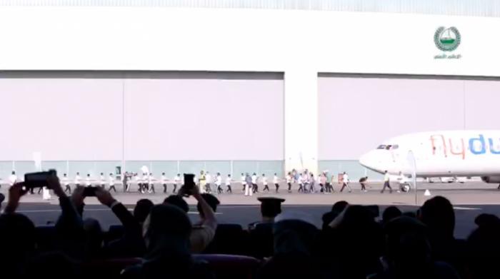 Dubai Police, flydubai, Boeing 737