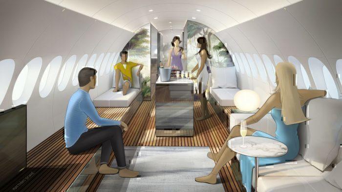Lufthansa Technik Skyretreat Concept