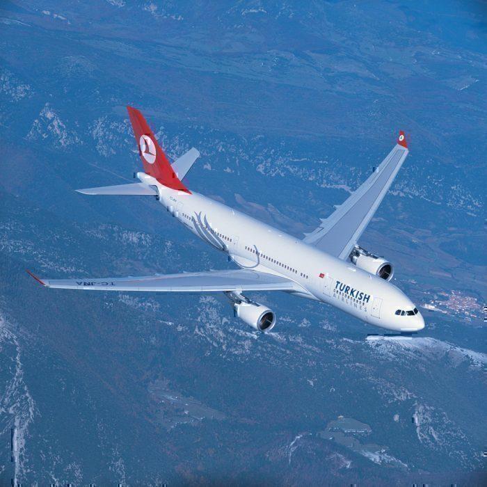 Turkish A330 to Newark