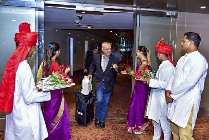 Virgin mumbai welcome