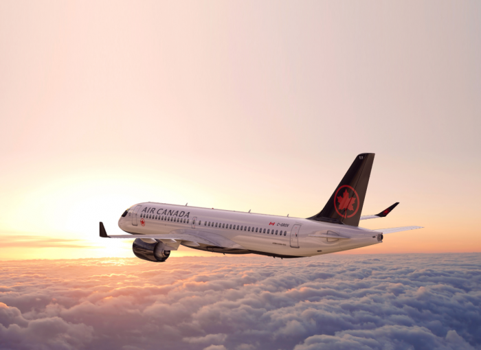 Air Canada's First Airbus A220 Takes Maiden Flight