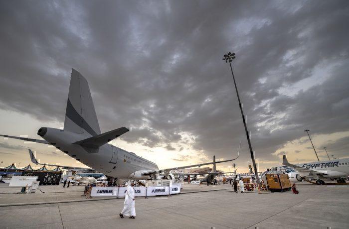 Airbus at Dubai Airshow