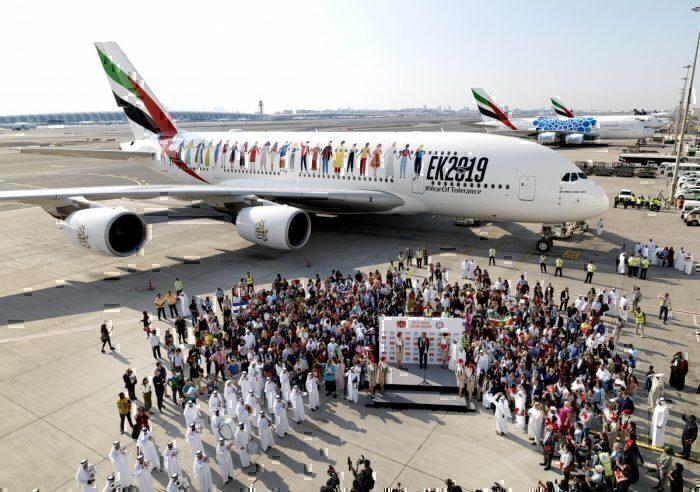 Emirates year of tolerance flight