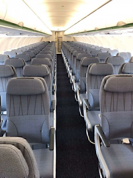 Bamboo airways A320neo interior