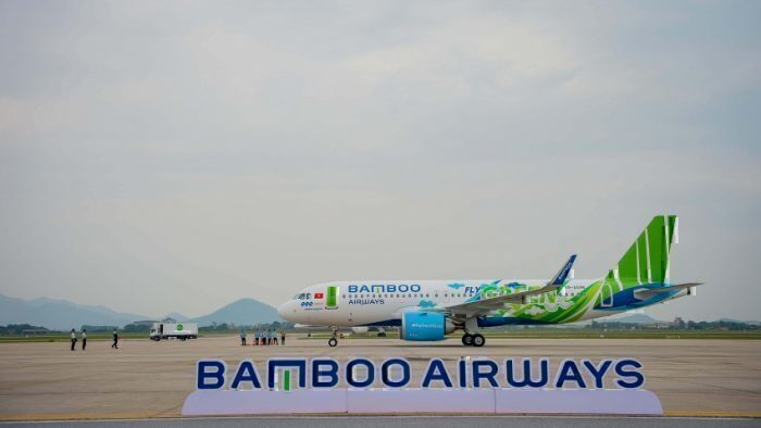 Bamboo Airways FLy Green Livery