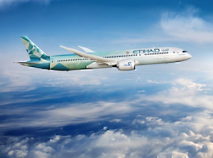 Etihad 'Greenliner' 787. Foto: Etihad