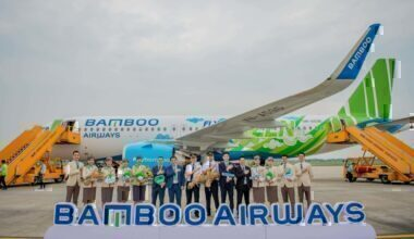 Bamboo Airways new A320neo Aircraft