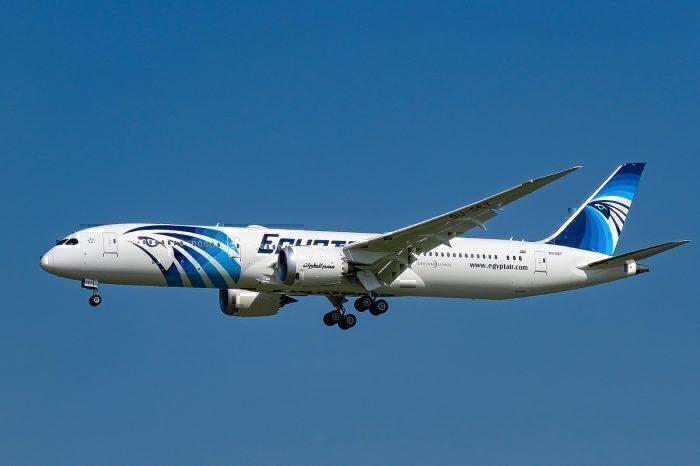 EgyptAir landing