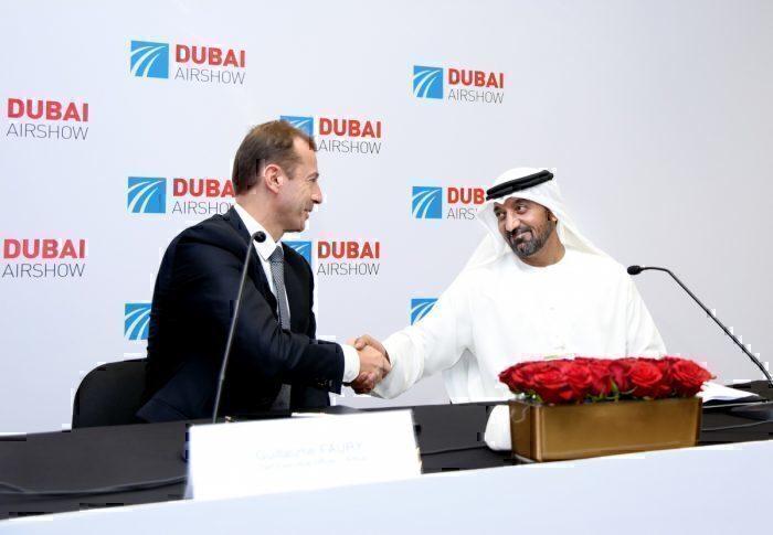 Emirates, Dubai World Central, Sheikh Ahmed
