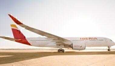 Airbus A350 Iberia