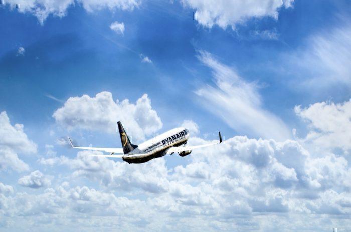 Ryanair blue sky