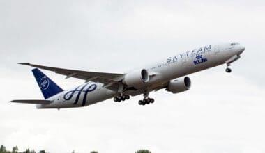 KLM Skyteam Livery