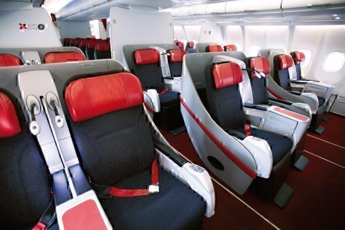 AirAsia US Premium flatbed