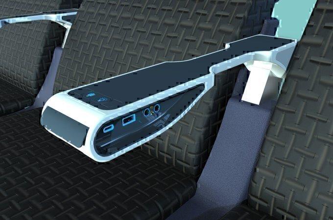 Com o sistema de energia da IFPL, as companhias aéreas podem transmitir anúncios de maneira semelhante à do YouTube: Foto IFPL