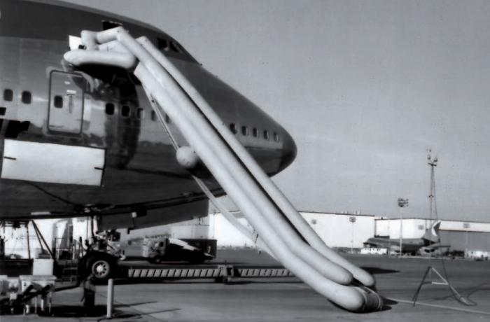 Aircraft slides