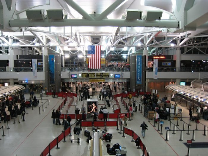 JFK Main Terminal interior