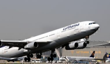 Lufthansa, Airbus A340, Frankfurt, Cologne