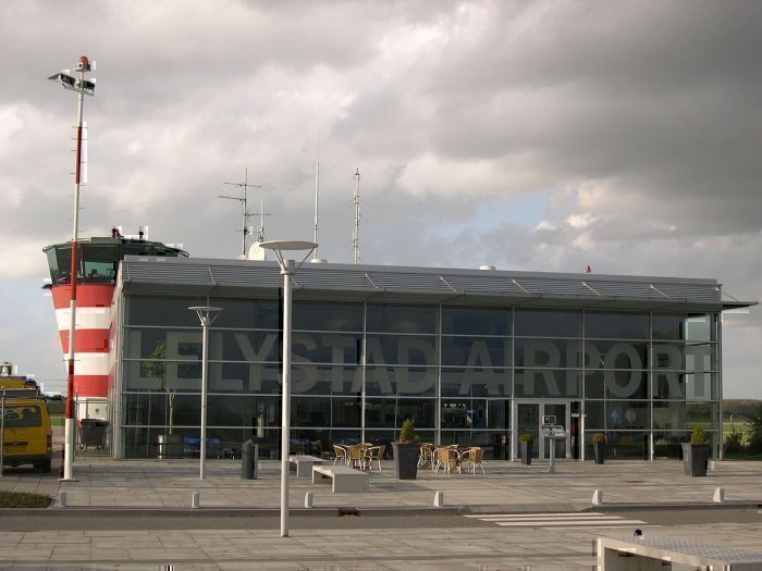 Lelystad Airport front