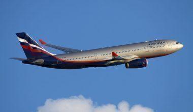 An Aeroflot A330