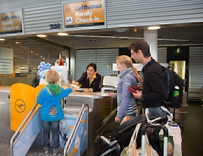 A Lufthansa está tentando tornar toda a experiência de viagem agradável. Foto: Lufthansa