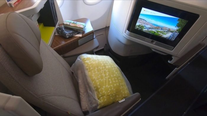 TAP A330neo Business Class