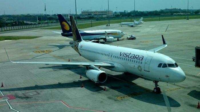 Vistara Airlines at Delhi T3