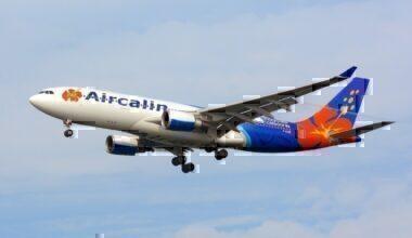 AirCalin, Airbus A330-200 F-OJSE NRT
