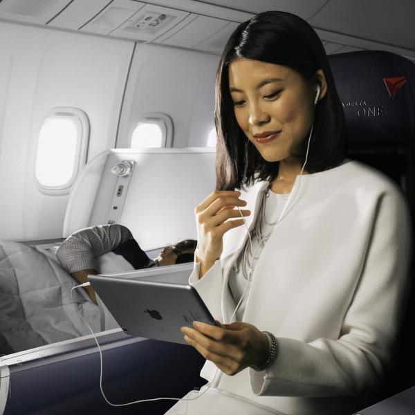 Delta Air Lines Free WiFi
