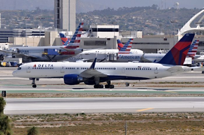 Delta and American Planes