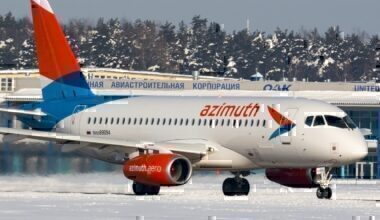 azimuth airlines sukhoi