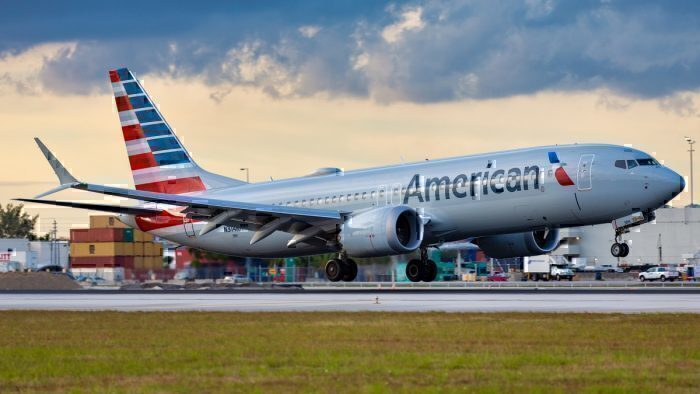 American Airlines 737 MAX