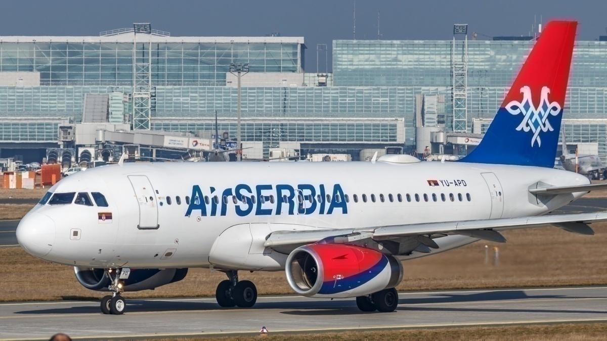 Air Serbia Airbus