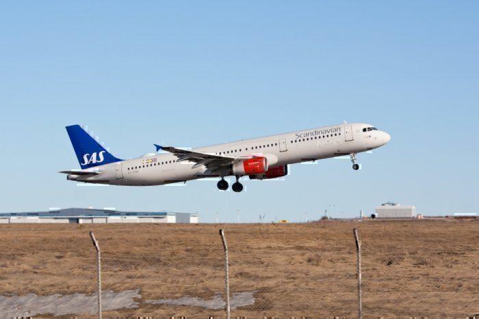 SAS, Airbus A321, Copenhagen