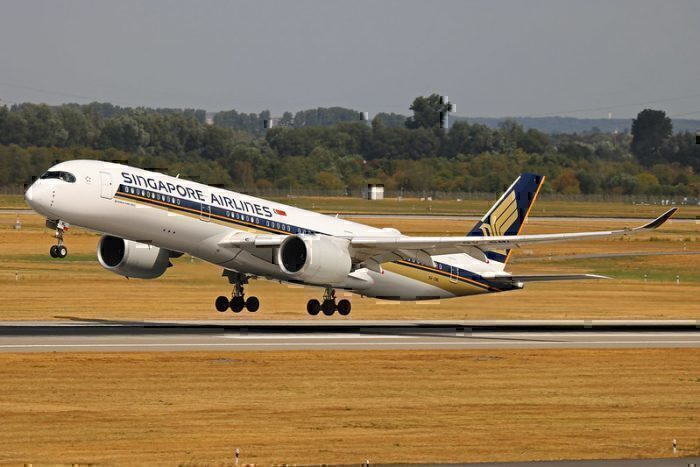 Singapore Airlines Launches Airbus A350 Flights To Brussels ...