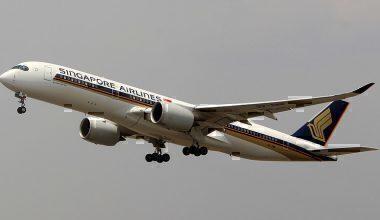 Singapore Airlines A350 9V-SMM