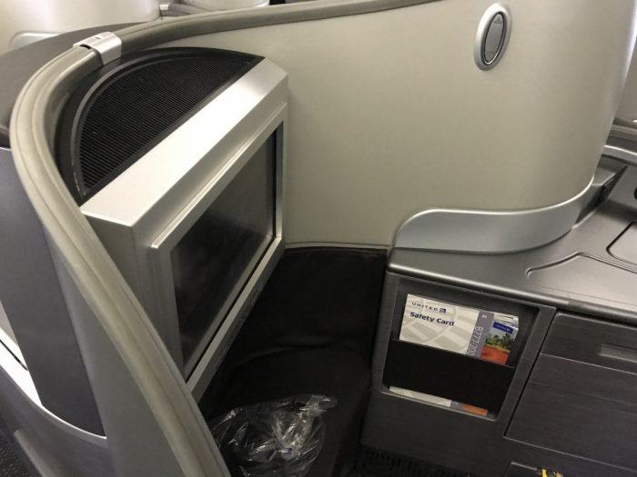 Polaris 777 seating side