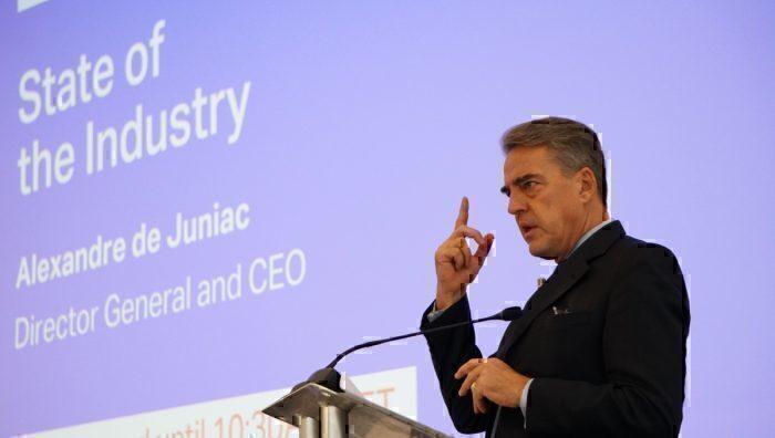 IATA Director General and CEO, Alexandre de Juniac