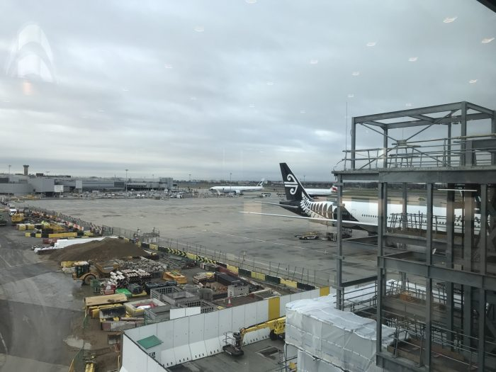 United Club Heathrow View