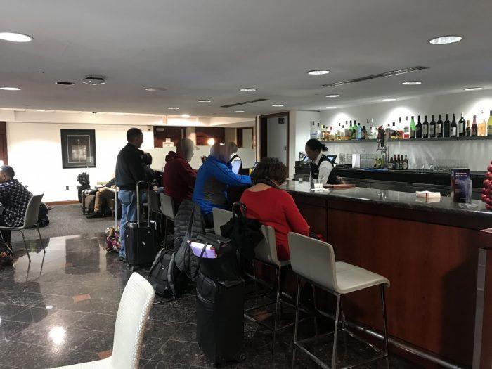 United Club Dulles Bar