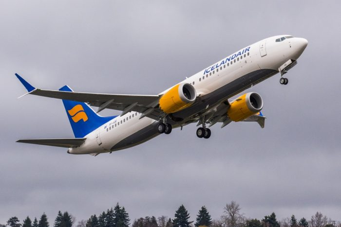 Icelandair 737 MAX Aircraft