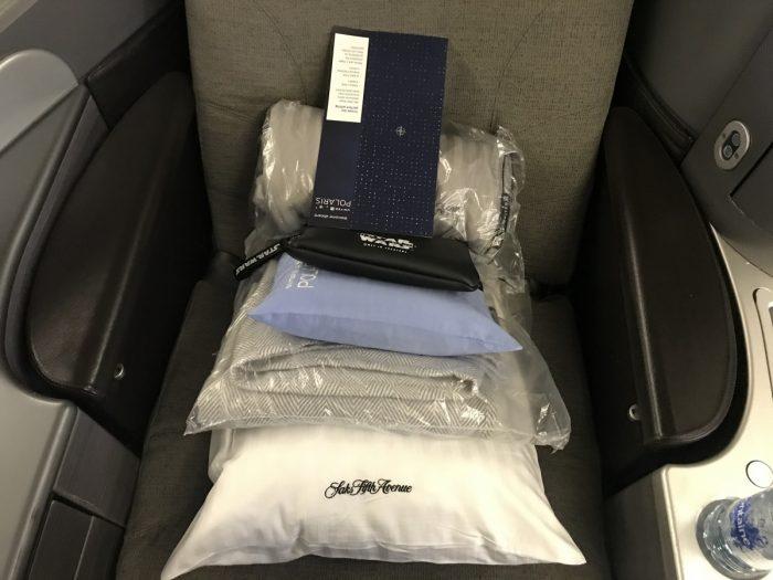 Polaris 777 seating top