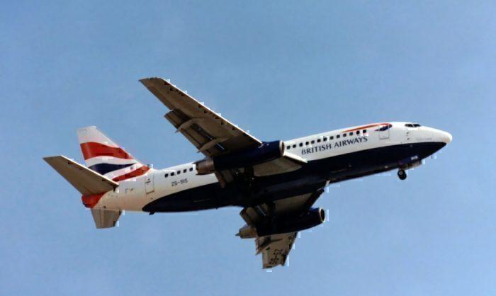 British Airways (Comair) B737-236 ZS-SIS