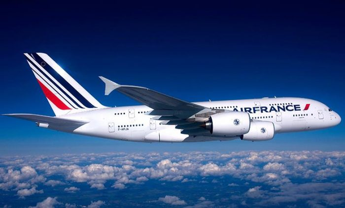 Air France A380 In Sky