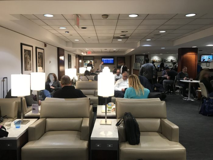 Dulles United Club Seating