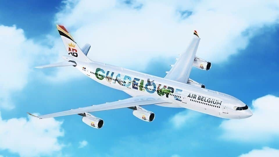 Air Belgium new livery