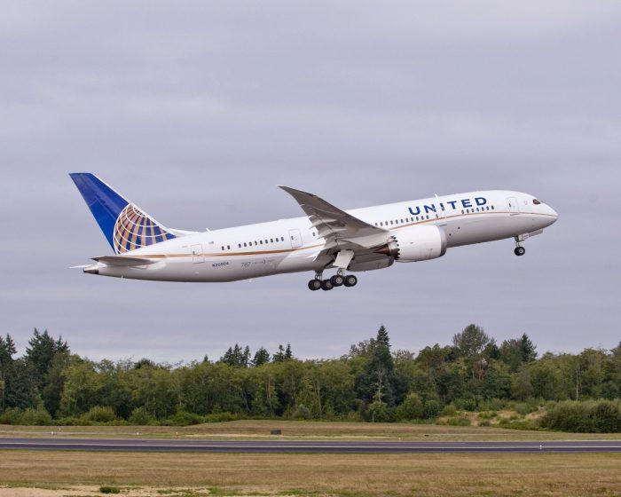 United Boeing 787 Planes