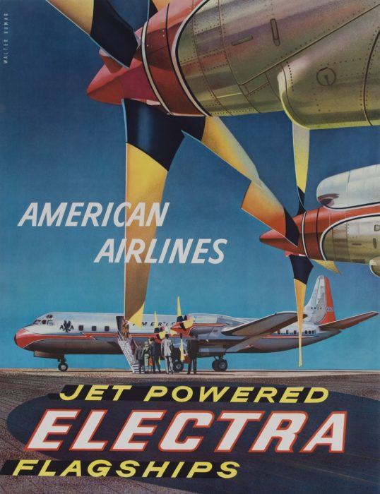 American Airlines Flagship Poster