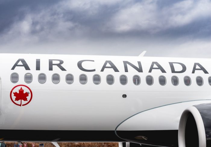 Air Canada A220 Exterior